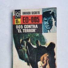 Libros de segunda mano: ENVIADO SECRETO EO-005 005 CONTRA EL TERROR. Lote 263193495