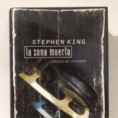 Libros de segunda mano: LA ZONA MUERTA. STEPHEN KING. EDICIÓN ÚNICA DE CÍRCULO DE LECTORES. AÑO 2004.. Lote 263811700