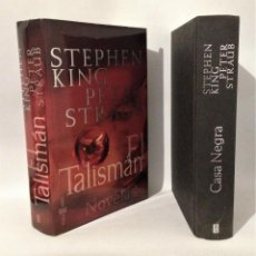 Libros de segunda mano: STEPHEN KING. EL TALISMÁN. LA CASA NEGRA. EDITORIAL PLAZA Y JANÉS. PRIMERA EDICIÓN 2002.. Lote 263811805