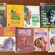 Libros de segunda mano: LOTE 11 LIBROS PERRY MASON. ERLE STANLEY GARDNER. SELECCIONES DE BIBLIOTECA ORO, PLAZA & JANES 1961. Lote 263946820