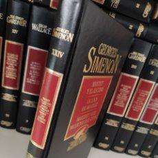 Libros de segunda mano: GEORGES SIMENON - TOMO XXIV - GRANDES MAESTROS DEL CRIMEN Y MISTERIO 3 OBRAS NÚMERO 87 ED ORBIS. Lote 264781334