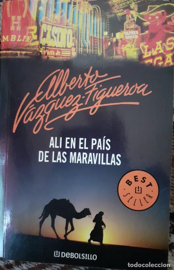 ALI EN EL PAIS DE LAS MARAVILLAS - ALBERTO VAZQUEZ FIGUEROA (Libros de segunda mano (posteriores a 1936) - Literatura - Narrativa - Terror, Misterio y Policíaco)
