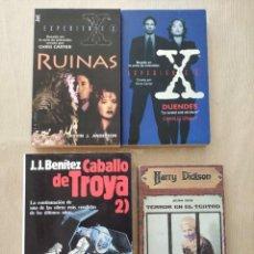 Libros de segunda mano: LOTE MISTERIO TERROR TEATRO -DICKSON + EXPEDIENTE X RUINAS + DUENDES + CABALLO TROYA 2. Lote 265828634