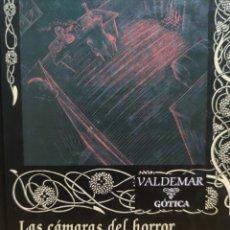Libros de segunda mano: LAS CÁMARAS DEL HORROR DE JULES DE GRANDIN - SEABURY QUINN (VALDEMAR ED.). Lote 267838389