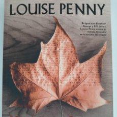 Livres d'occasion: NATURALEZA MUERTA, LOUISE PENNY. FACTORÍA DE IDEAS. PREMIOS ARTHUR ELLIS Y DILYS. DESCATALOGADO.. Lote 268461239