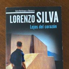 """Libros de segunda mano: """"LEJOS DEL CORAZÓN""""-LORENZO SILVA. Lote 268897124"""