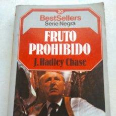 Libros de segunda mano: FRUTO PROHIBIDO/J. HADLEY CHASE. Lote 268902439