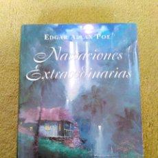Libros de segunda mano: NARRACIONES EXTRAORDINARIAS - EDGAR ALLAN POE (OPTIMA) - TAPA DURA. Lote 268936159