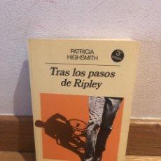 Libros de segunda mano: TRAS LOS PASOS DE RIPLEY PATRICIA HIGHSMITH. Lote 268951084