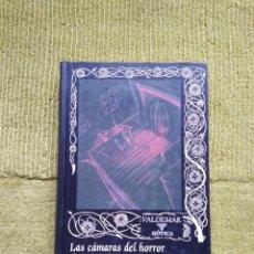 Libros de segunda mano: LAS CÁMARAS DEL HORROR DE JULES DE GRANDIN - SEABURY QUINN (VALDEMAR GOTICA 52) - TAPA DURA. Lote 268952899