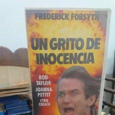 Libros de segunda mano: UN GRITO DE INOCENCIA - FREDERICK FORSYTH - ROD TAYLOR , JOANNA PETTET -VCL. Lote 269393238