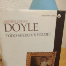 Libros de segunda mano: TODO SHERLOCK HOLMES - ARTHUR CONAN DOYLE (CÁTEDRA. TAPA DURA). Lote 270408858