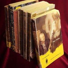 Libros de segunda mano: COLECCIÓN DE NUEVE NOVELAS POLICÍACAS DE BOLSILLO, EDITORIAL MOLINO, AÑOS 60. Lote 270915318