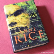 Livres d'occasion: MERRICK - ANNE RICE. Lote 271066858