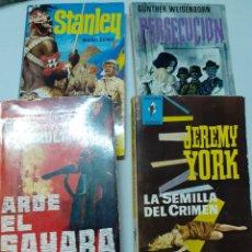 Libros de segunda mano: NOVELAS DE LOS AÑOS 60. Lote 272301298