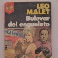 Libros de segunda mano: BULEVAR DEL ESQUELETO - LEO MALET. Lote 275542863