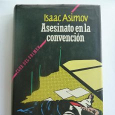 Libros de segunda mano: ASESINATO EN LA CONVENCIÓN. ISAAC ASIMOV. Lote 275575078