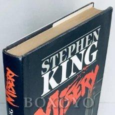 Libri di seconda mano: KING, STEPHEN. MISERY. 1988. PRIMERA EDICIÓN. Lote 276032053