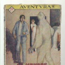 Libros de segunda mano: AVENTURAS 31:EL HOMBRE QUE ESTUVO EN SATURNO, PRENSA MODERNA. COLECCIÓN A.T.. Lote 277187083