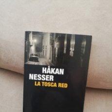 Libros de segunda mano: HAKAN NESSER - LA TOSCA RED - RBA 2009. Lote 277216718
