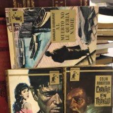 Libros de segunda mano: LOTE LIBROS BIBLIOTECA MOLINO GEFFREY ASHFORD COLIN ROBERTSON CHARLES EXBRSYAT. Lote 277448313