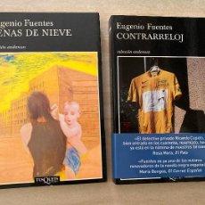 Libros de segunda mano: ¡¡¡OFERTA VERANO!!! - LOTE 2 LIBROS EUGENIO FUENTES. Lote 277718493
