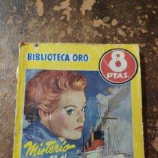 """Libros de segunda mano: BIBLIOTECA DE ORO N° 339: MISTERIO EN EL """"QUEEN MARY"""" (BRUCE GRAEME) (ED. MOLINO). Lote 277845183"""