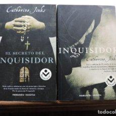 Libros de segunda mano: LOTE DE CATHERINE JINKS. EL INQUISIDOR Y EL SECRETO DEL INQUISIDOR. ROCABOLSILLO 2007. Lote 278454308