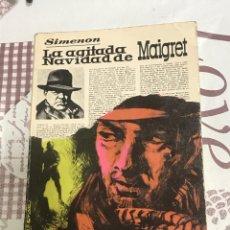 Libros de segunda mano: LA AGITADA NAVIDAD DE MAIGRET , DE SIMENON, EDITORIAL LUIS DE CARALT, COLECCION GIGANTE NÚMERO 27. Lote 278454383
