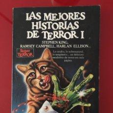 Libros de segunda mano: LAS MEJORES HISTORIAS DE TERROR I. Lote 278758198