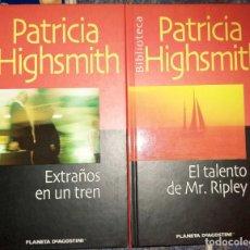 Libros de segunda mano: LOTE 2 PATRICIA HIGHSMITH. Lote 278838458