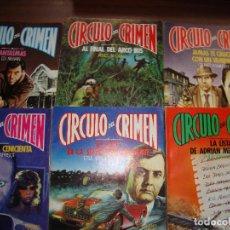Libros de segunda mano: COLECCION DE 30 LIBROS CIRCULO DEL CRIMEN EN PERFECTO ESTADO VER FOTOS. Lote 278921528