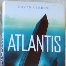 Libros de segunda mano: ATLANTIS - DAVID GIBBINS - ED. PLANETA 2007 - VER DESCRIPCIÓN. Lote 283968998