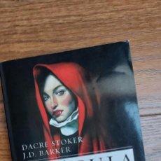 Libros de segunda mano: DRÁCULA, EL ORIGEN. DACRE STOKER Y J. D. BARKER ( BOLSILLO BOOKET). Lote 285054918