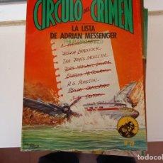 Libros de segunda mano: CIRCULO DEL CRIMEN Nº 20 LA LISTA DE ADRIAN MESSENGER. Lote 285280808