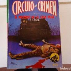 Libros de segunda mano: CIRCULO DEL CRIMEN Nº 26 EL MISTERIO DE LA CASA ROJA. Lote 285282113