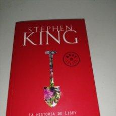 Libros de segunda mano: LA HISTORIA DE LISEY - STEPHEN KING. Lote 285481293