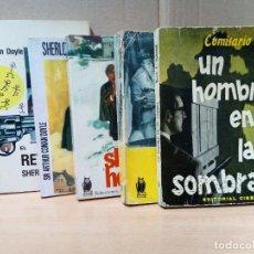 Libros de segunda mano: LOTE DE 5 NOVELAS DE SUSPENSE. Lote 286524928