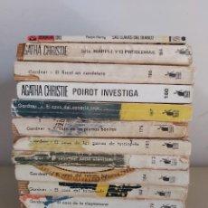 Livres d'occasion: LOTE LIBROS NOVELAS PERRY MASON, AGATHA CHRISTIE Y OTROS.. Lote 286691273
