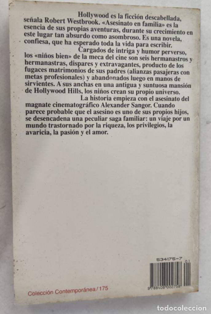 Libros de segunda mano: ASESINATO EN FAMILIA. ROBERT WESTBROOK. PLANETA. - Foto 2 - 287085248