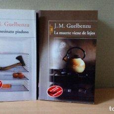 Libros de segunda mano: LOTE DE 2 NOVELAS DE JOSE Mª GUELBENZU. Lote 287245103
