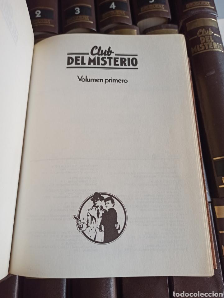 Libros de segunda mano: EL CLUB DEL MISTERIO, TOMOS 1 A 18,, COLECCIÓN BRUGUERA, CASI COMPLETA FALTA EL VOL. 19. - Foto 3 - 287667793