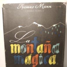 Libros de segunda mano: LA MONTAÑA MÁGICA. THOMAS MANN. APOLO. 1946. Lote 287806748