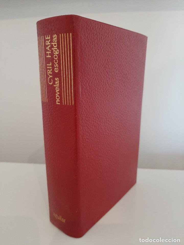 NOVELAS ESCOGIDAS. CYRIL HARE. AGUILAR. COLECCIÓN EL LINCE ASTUTO. 1964 (Libros de segunda mano (posteriores a 1936) - Literatura - Narrativa - Terror, Misterio y Policíaco)