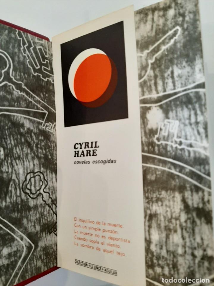 Libros de segunda mano: NOVELAS ESCOGIDAS. CYRIL HARE. AGUILAR. COLECCIÓN EL LINCE ASTUTO. 1964 - Foto 3 - 288146473