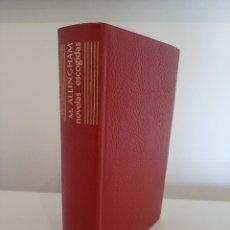 Libros de segunda mano: NOVELAS ESCOGIDAS. MARGERY ALLINGHAM. AGUILAR. COLECCIÓN EL LINCE ASTUTO. 1964. Lote 288146898