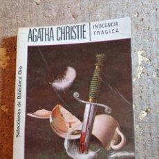 Libros de segunda mano: LIBRO DE AGATHA CHRISTIE EN INOCENCIA TRAGICA. Lote 288323933