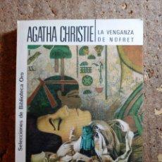 Libros de segunda mano: LIBRO DE AGATHA CHRISTIE EN LA VENGANZA DE NOFRET. Lote 288328598
