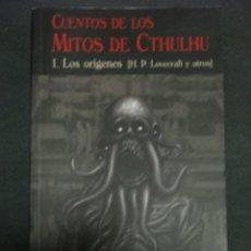 Libros de segunda mano: CUENTOS DE LOS MITOS DE CTHULHU, 1- LOS ORIGENES, LOVECRAFT Y OTROS, VALDEMAR, CLUB DIOGENES. Lote 288559978