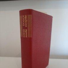 Libros de segunda mano: NOVELAS ESCOGIDAS. DAVID DODGE. EDITORIAL AGUILAR. COLECCIÓN EL LINCE ASTUTO. 1962. Lote 288620478